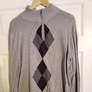 Croft and borrow argyle sweater Size LG